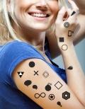Tatouage temporaire tutti tattoo graphique