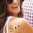Tatouage temporaire éphémère tutti tattoo romantique