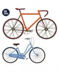 Tatouage temporaire vélo